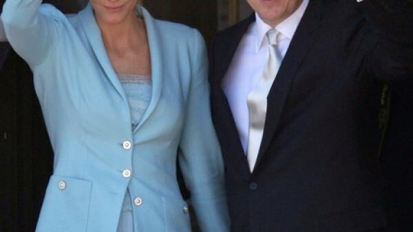 Alberto II y Charlene en la ceremonia civil, este viernes 1 de julio.