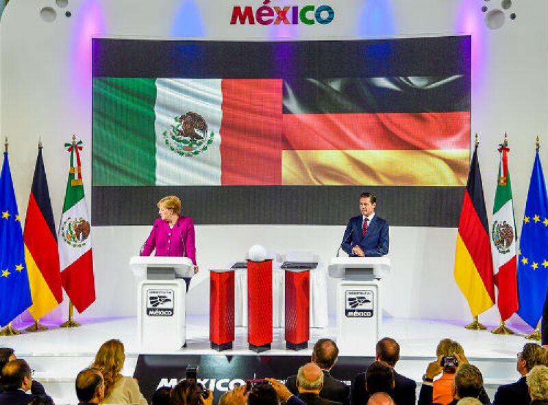 conferencia de presidentes en Hannover Messe 2018