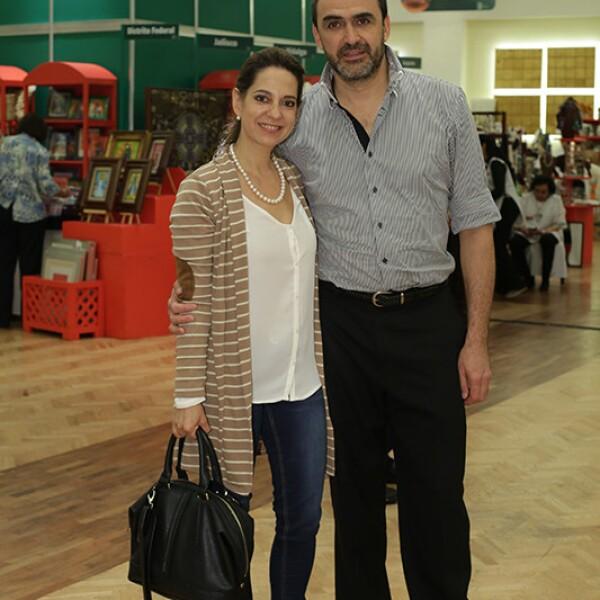 Martha Elena Ruíz y Augusto Duhart