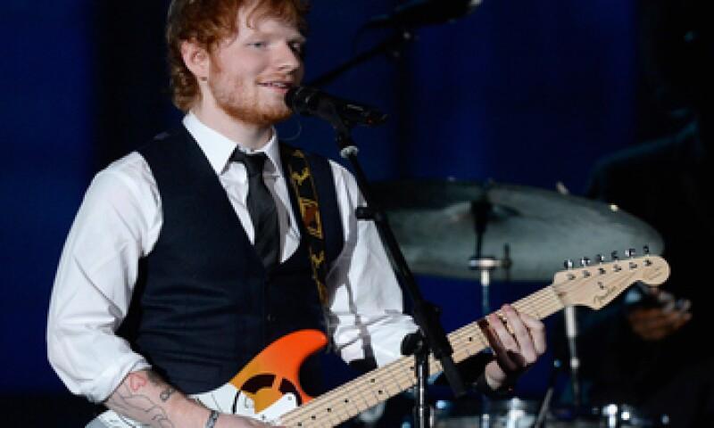 Ed Sheeran ha sido reconocido como Mejor Artista por MTV. (Foto: Getty Images )