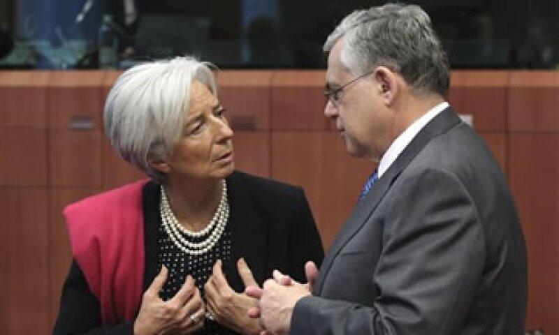 La eurozona aprobó un paquete de rescate de 130,000 mde para evitar que Grecia caiga en un cese de pagos. (Foto: AP)