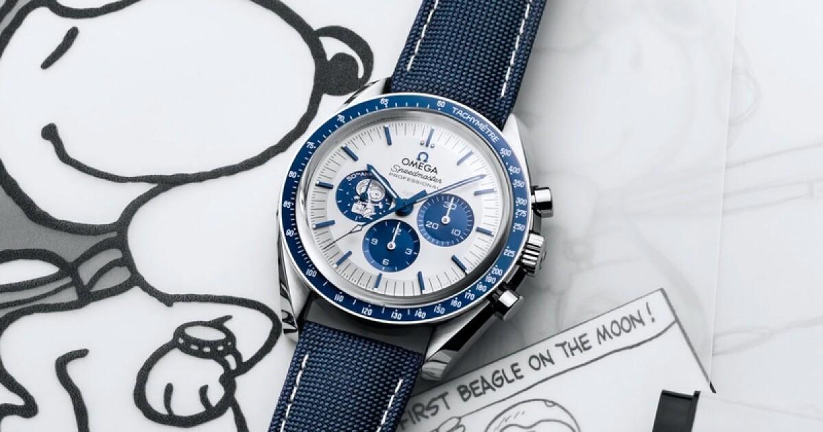Omega celebra 50 años del aniversario de su premio Snoopy