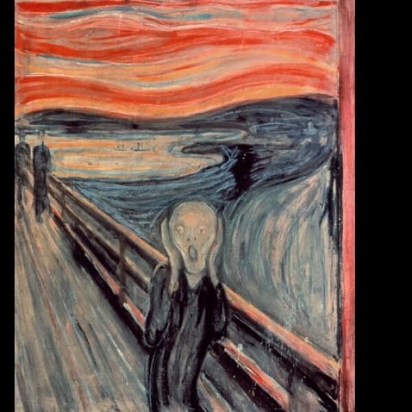 Munch El Grito pintura