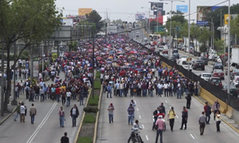 La Coparmex llamó al Gobierno del DF a  evitar ceder a lo que llamó es un chantaje. (Foto: Notimex)