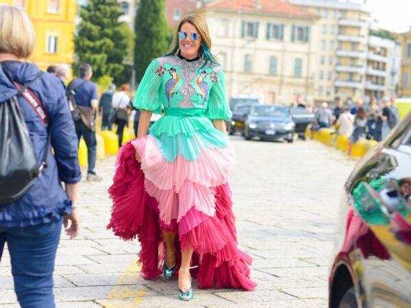 Street Style, Spring Summer 2017, Milan Fashion Week, Italy - 21 Sep 2016