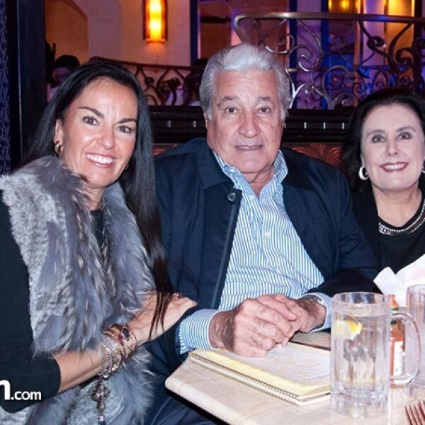 Ana Paula Vega, Rafael y Alicia Lebrija