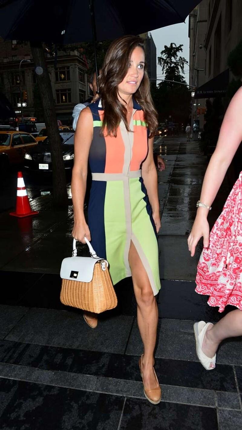 Pippa acudirá a algunos desfiles en la Semana de la Moda de Nueva York.