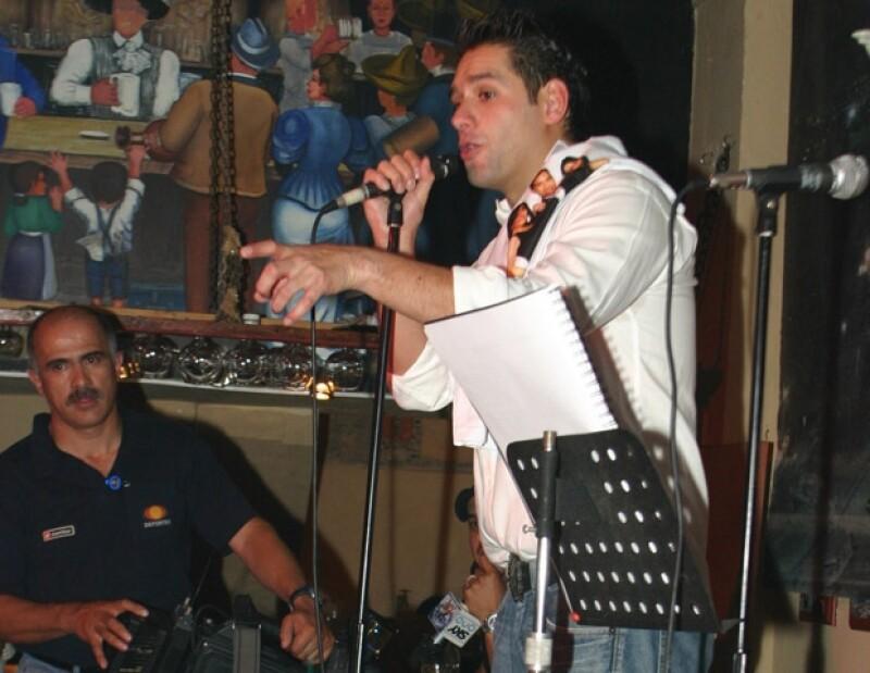 Alan, ex integrante de Magneto, lanzó dos discos como solista y se dedicó a la actuación. (Foto: Clasos.com