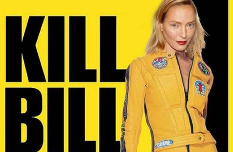 Uno de los memes más comúnes es el del poster de la película Kill Bill.