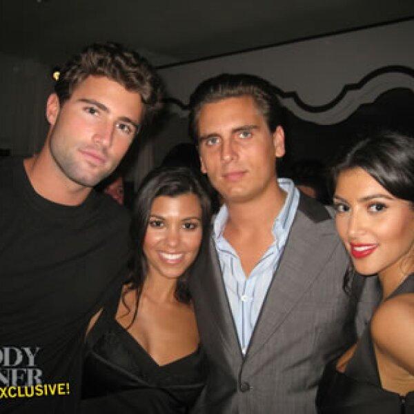 Tanto Brody como Brandon aparecieron en `Keeping up with the Kardashians´.
