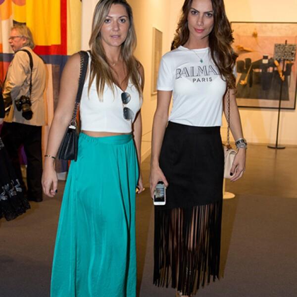 Paula Cotta y Erica Samelez