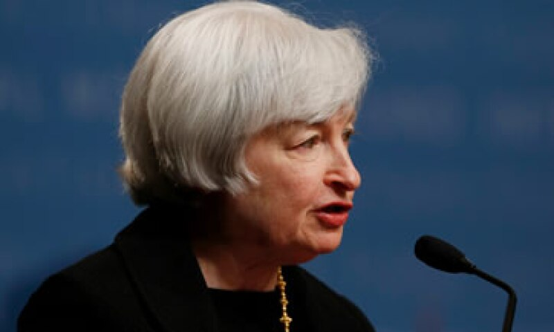 Janet Yellen asumió el mando de la Fed este año en sustitución de Ben Bernanke. (Foto: Reuters)
