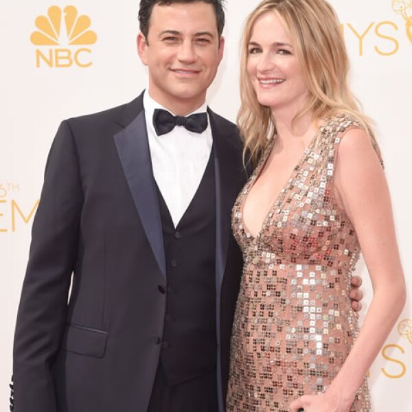 Jimmy Kimmel, Molly McNearney.