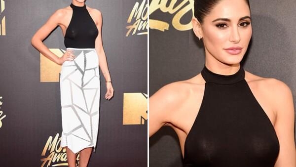 Nargis Fakhri cautivó en la premiación con un bodysuit de la marca, que se puede conseguir en menos de 20 dólares.