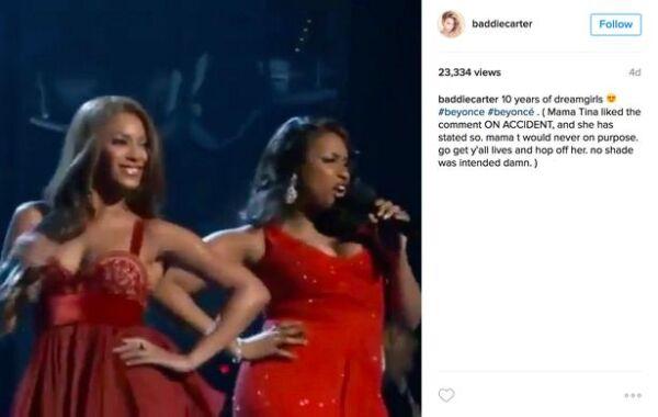 Beyoncé, Jennifer Hudson