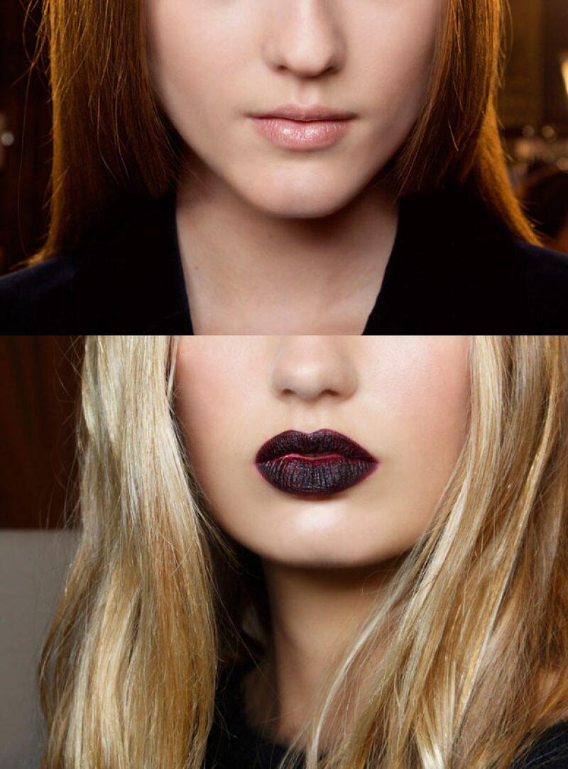 Un labial oscuro endurecerá tu cara, así que si lo que quieres es verte más jóven, es evitar estos tonos.