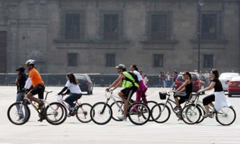 En México el 62% de las bicicletas que se importan provienen de China. (Foto: Notimex)