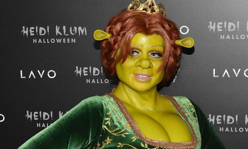 Heidi-klum-halloween-fiona-shrek