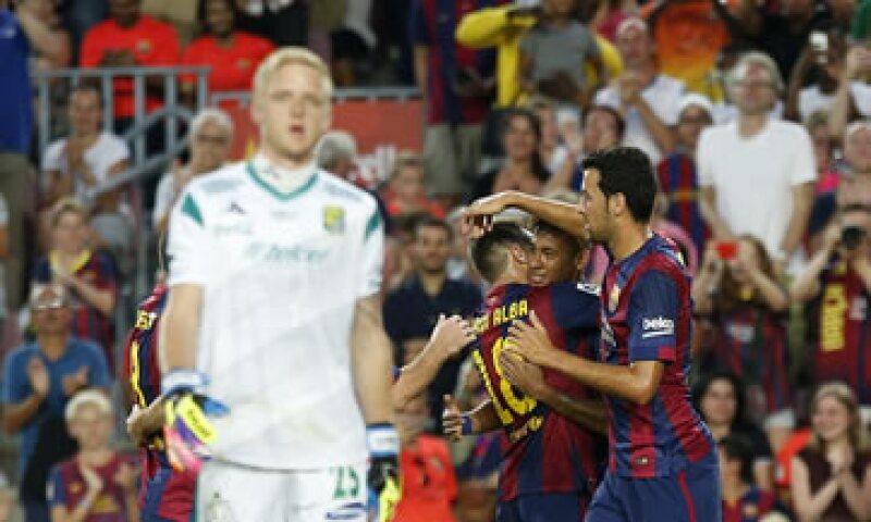 A los 12 minutos del primer tiempo el León ya perdía 2-0 (Foto: Reuters)
