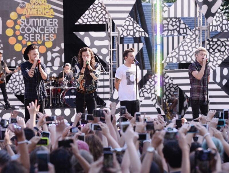 Niall Horan, Liam Payne, Harry Styles y Louis Tomlinson obtuvieron unas ganancias totales de 35 millones de libras el año pasado con su compañía 1D Media.