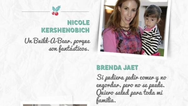Paulina Díaz Ordaz, Sylvana Beltrones, Lili Henaine y Brenda Jaet ya tienen listas sus cartas con la lista de regalos que esperan recibir esta Navidad.