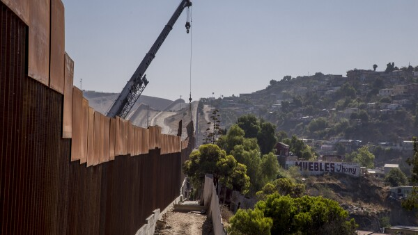 muro fronterizo - frontera- estados unidos