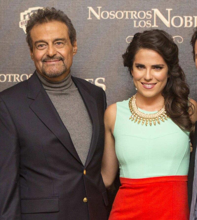 Karla Souza y Gonzalo Vega