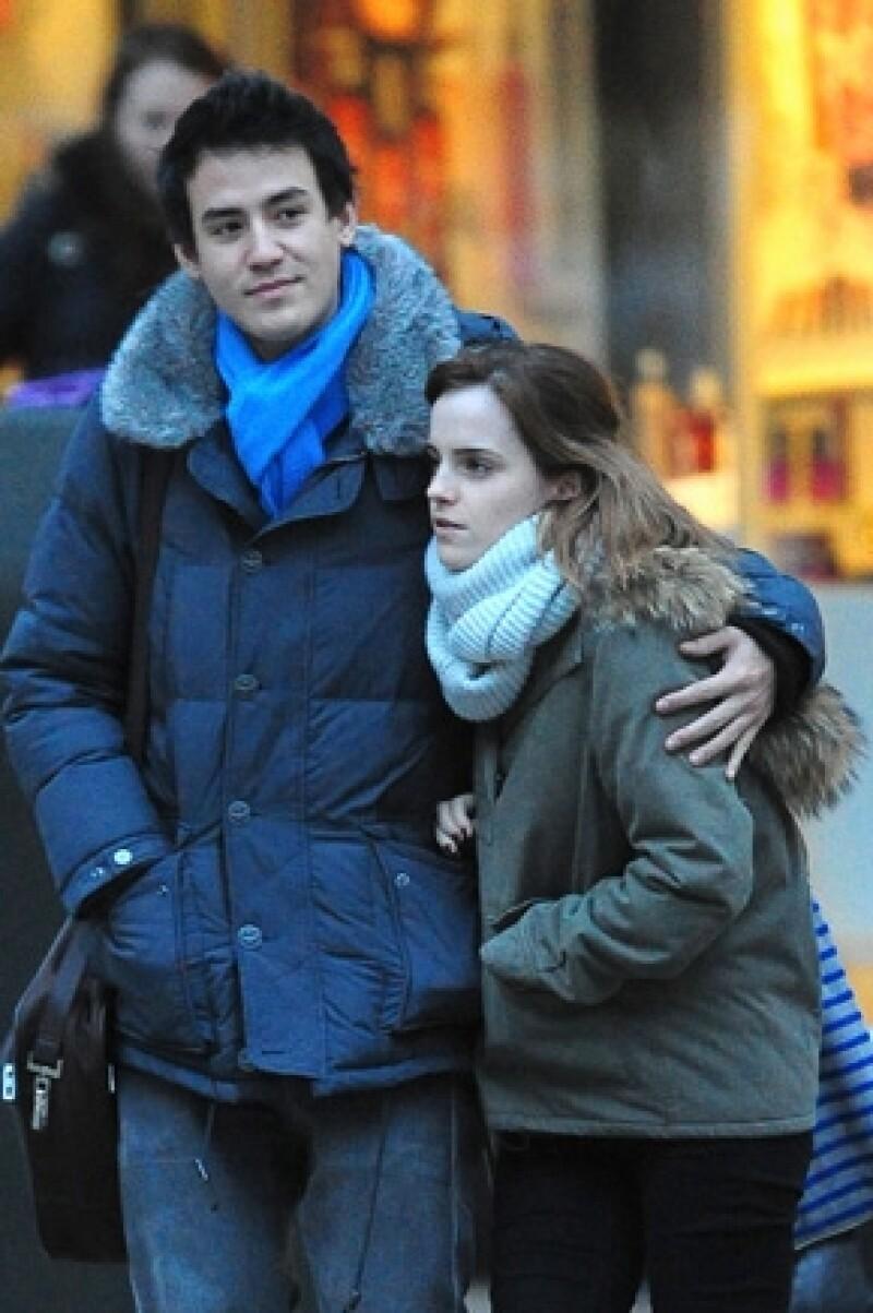 """Apenas esta semana se supo que la actriz de """"Harry Potter"""" había terminado con William Adamowicz hace seis meses, sin embargo al parecer su corazón tiene nuevo dueño."""