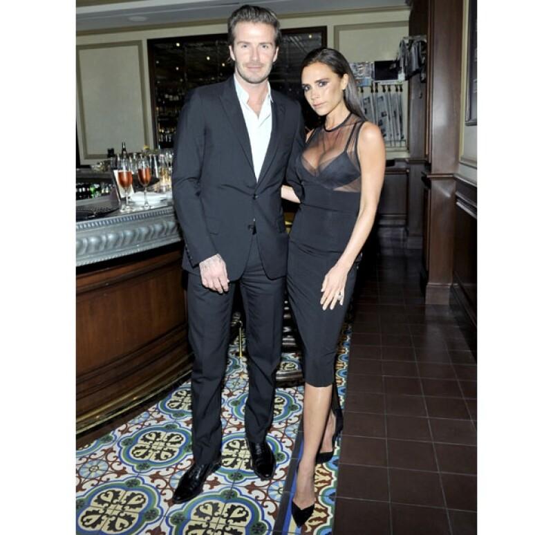 David y Victoria lucían espectaculares.