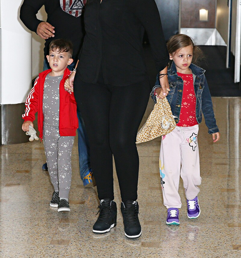 Harlow Winter Kate y Sparrow James Midnight son hijos de Nicole Richie y Joel Madden.