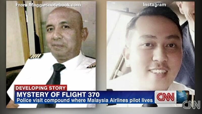 Pilotos avion malasio desaparecido