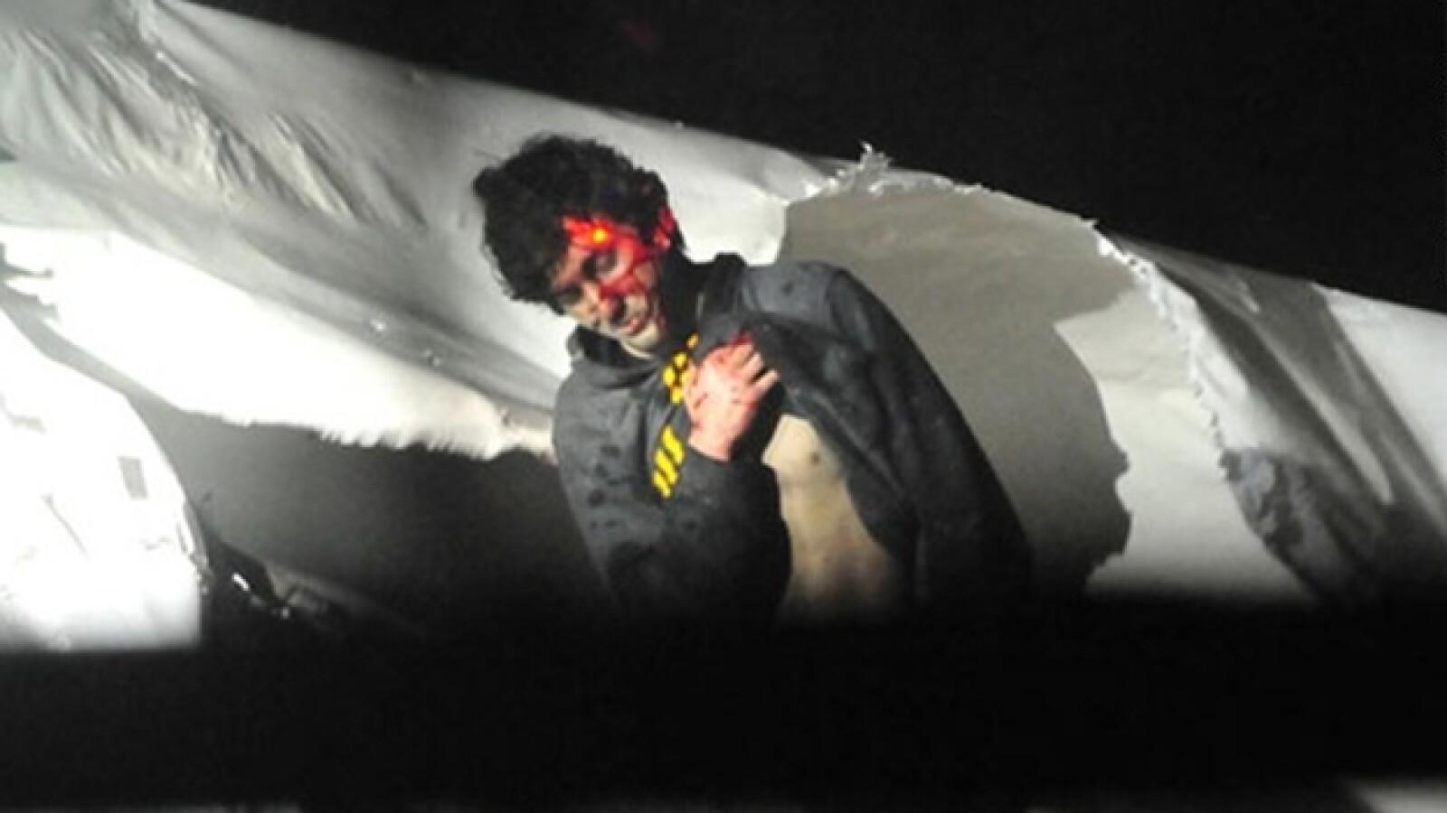 Dzhokhar Tsarnaev captura