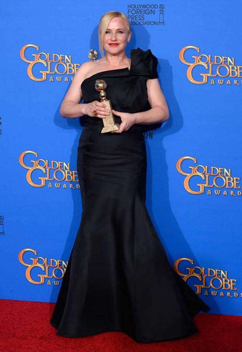 Patricia Arquette recientemente ganó el premio a la Mejor Actriz de Reparto en los Golden Globes.