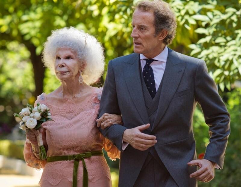 La Duquesa demostró que a pesar de los años aún se puede encontrar el amor.