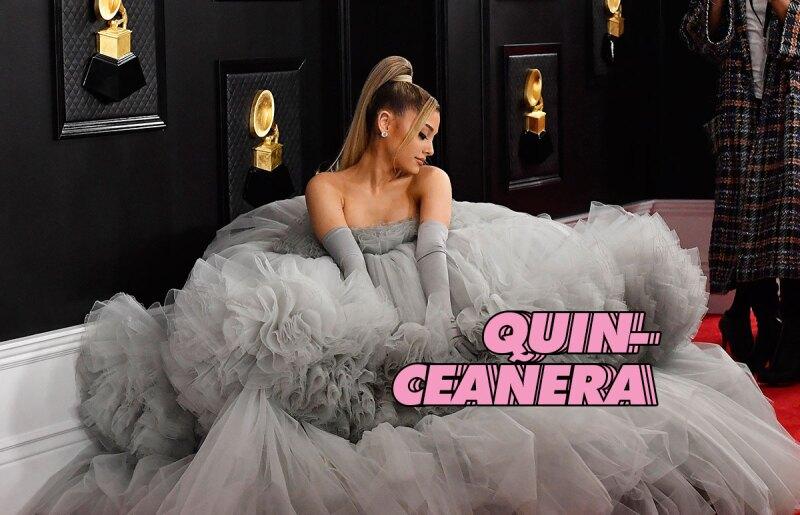 ariana-grande-3-looks-grammy-qinceañera-giambattista-Valli