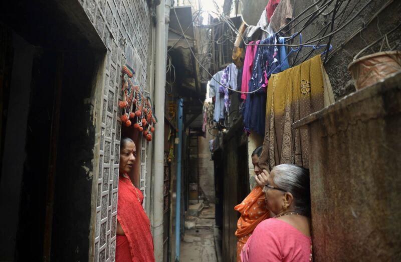 Dharavi -. Bombay - India - comunidades