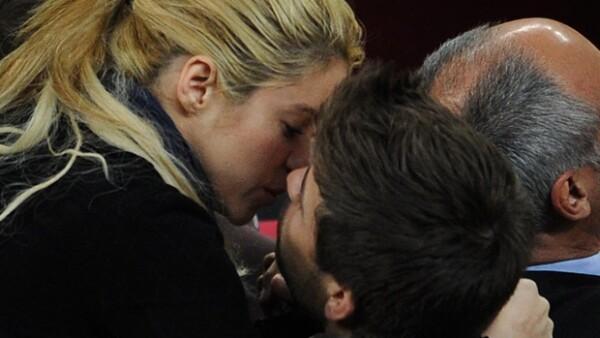 En la Copa del Rey se mostraron enamorados.