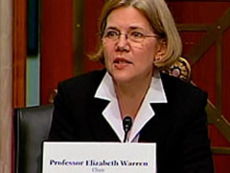 Elizabeth Warren encabeza el Panel de Revisión del Programa de Alivio para Activos en Problemas (TARP). (Foto: CNNMoney)