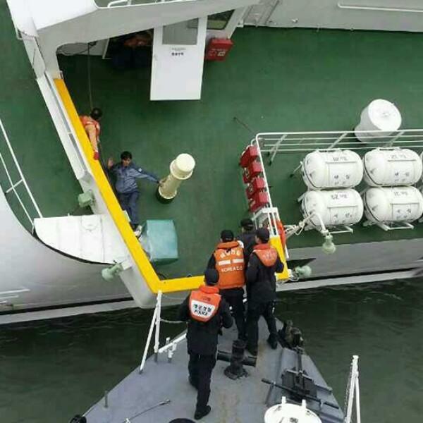 El transbordador con 459 pasajeros se hundió en el mar Amarillo, en Corea del Sur