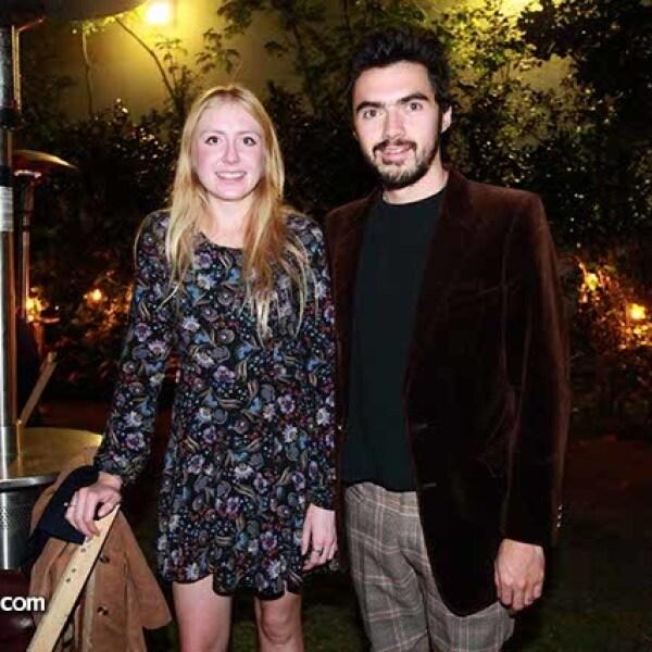 Fernanda Castro y Germán Flores