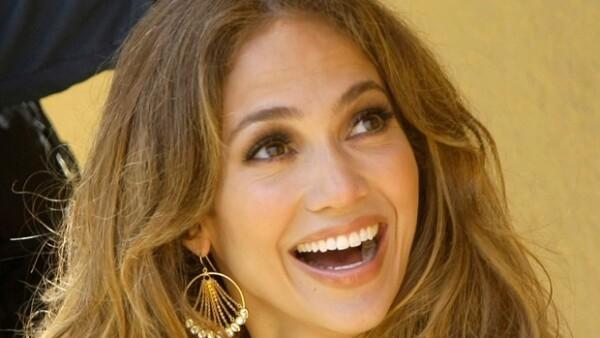 Jennifer se mostró siempre sonriente durante la gira para realizar los casting de su nuevo programa.