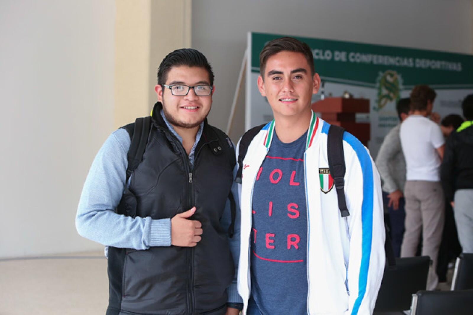 Alberto Morales y Paul de la Peña