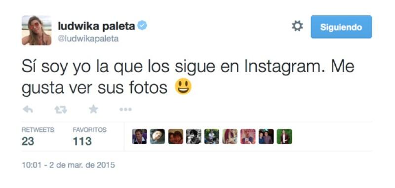 La actriz ha mostrado especial interés por sus followers tanto de Twitter como de Instagram.
