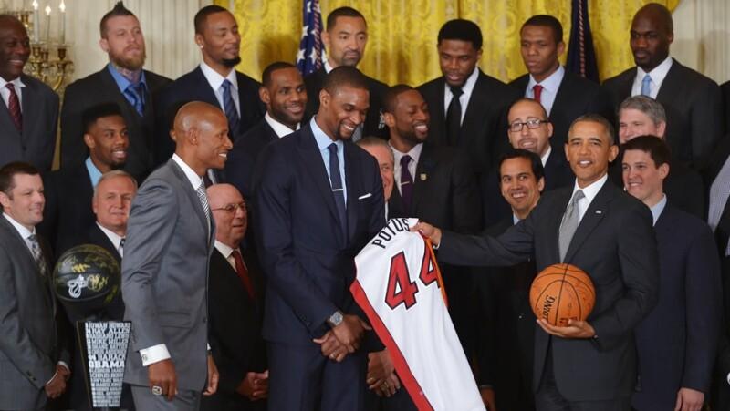 Miami Heat Barack Obama