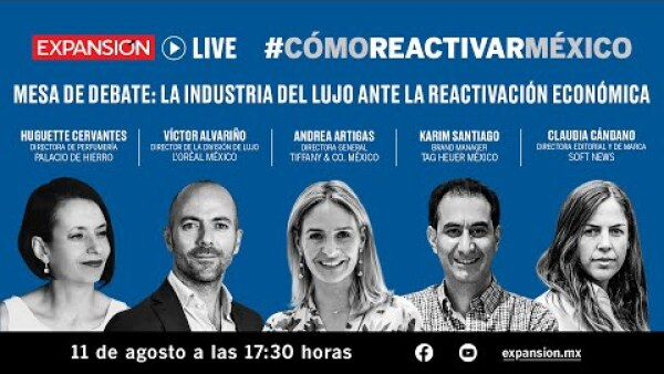 La moda y la belleza frente a la reactivación económica | #CómoReactivarMéxico