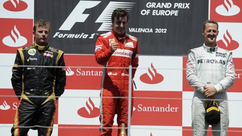 Fernando Alonso gana el Gran Premio de Europa
