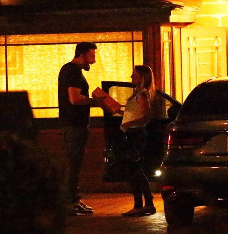 La niñera visitó a Ben Affleck a mediados de julio en su casa de Los Ángeles. Dando más fuerza a los rumores sobre su romance.