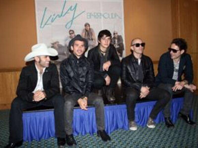 El grupo mexicano ofreció a los tres mil seguidores que asistieron a verlos, un recital lleno de energía, fiesta, rock y dance.