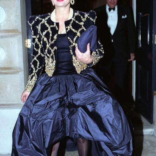 Princess Margaret's 60th Birthday Party at Spencer House - 15 Nov 1990