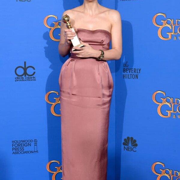 Maggie Gyllenhaal se llevó el premio en la categoría Mejor Actriz en una Película de Televisión o Miniserie por The Honorable Woman.